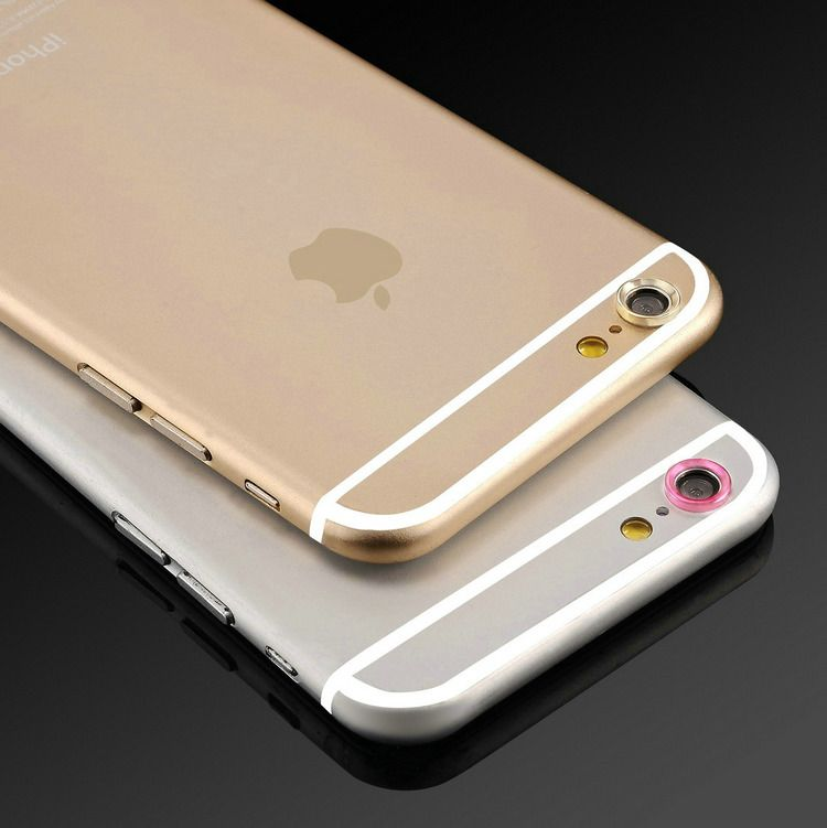 For iPhone 6 6S Plus case Jewelry Rear Camera Glass Metal Lens Protector Hoop Ring Guard Circle For iPhone 6S case