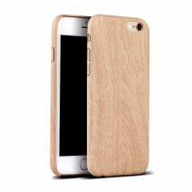 Luxury Wooden Pattern PU Leather Soft Wood Grain Soft Back Shell Cover For iPhone 6 4.7 case For iphone 6s Plus 5.5 Phone Bag