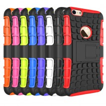 Top Quality Rugged TPU Plastic Hybrid Heavy Duty Armor For iPhone 4 4s 5 5s 5c 6 6s Plus case Hard Shock Proof Back Cover