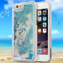 Dynamic Liquid Glitter Sand Quicksand Star For iphone 5s case Crystal Clear phone Back Cover coque For iphone 5 case