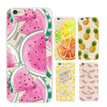 Fruit Pineapple Lemon Banana TPU Soft Silicon Transparent Thin Case Cover For Apple iPhone 5 case For iPhone 5s case Coque