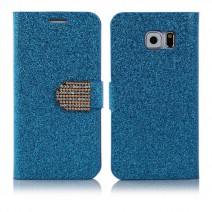 For Samsung Galaxy Note 3 case Wallet Cover Fashion Cell phone holder Bling Glitter Diamond PU Leather Phone Case