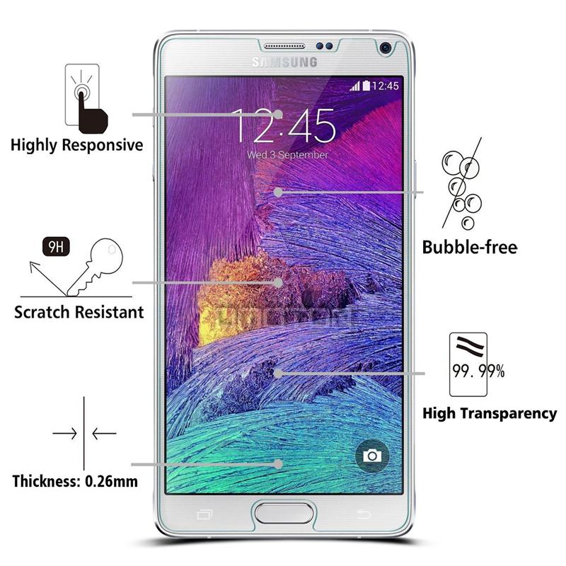 0.3mm Tempered Glass For Samsung Galaxy S7 A5 A7 J5 case for Galaxy grand prime core prime case Screen Protector Film slim coque