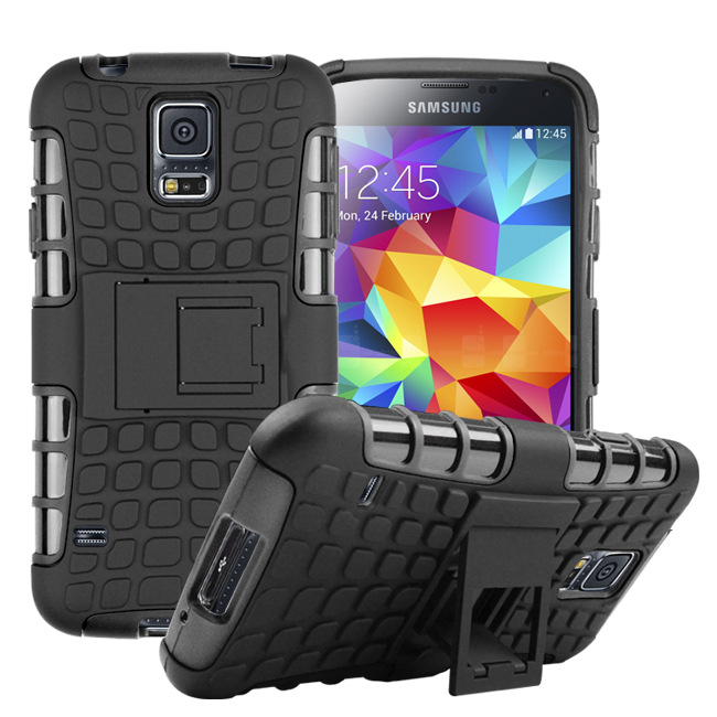 Top Quality Rugged TPU Plastic Hybrid Heavy Duty Armor Case For Samsung Galaxy S5 S6 S7 Edge J5 case Hard Shock Proof Back Cover