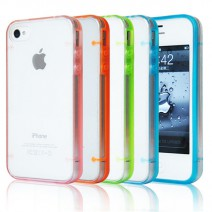 For iPhone 5s case Luminous Bright Clear Transparent Shell Phone Accessories Soft TPU Protective Cover For iPhone 5 case