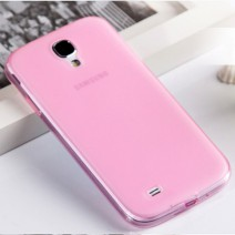 5 color Phone case For Samsung Galaxy S4 0.3mm Ultra thin TPU transparent phone Back Cover