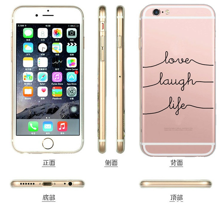Cute Design panda Transparent Silicone Case Cover For iPhone 5 5S SE 6 6S For Samsung Galaxy S3 S4 S5 S6 S7 Edge J5 A3 A5 2016