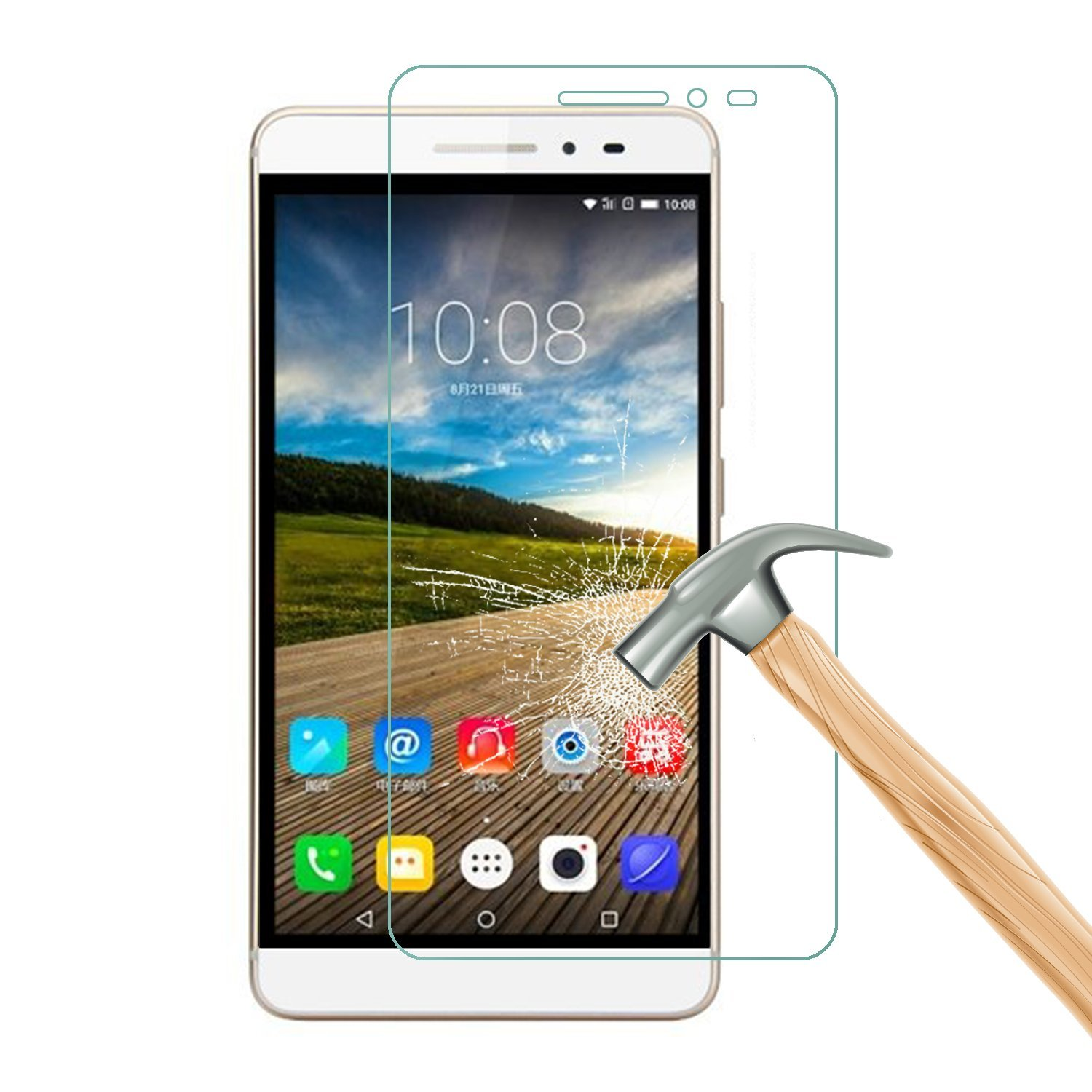 0.3mm Tempered Glass For Lenovo a536 A5000 A6000 A6010 A7000 A2010 S90  k3 note p70 vibe p1m K5 case cover Screen Protector