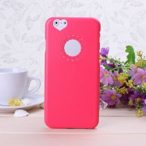For iPhone 5 case For iPhone 5s case Rose Gold Cute candy Color Loving Heart Flower Lace Hard Phone Case SE