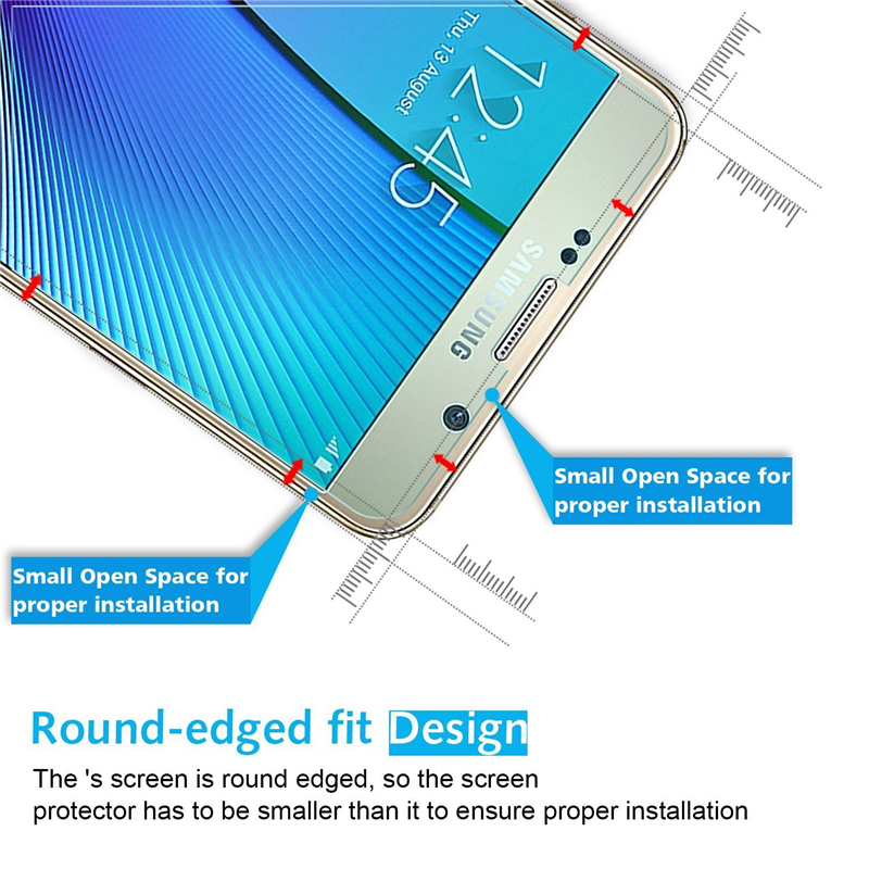 0.3mm Tempered Glass For Samsung Galaxy S6 S5 S4 S3 grand prime case for Galaxy Note 5 4 3 J5 J3 case Screen Protector coque