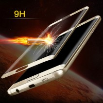 New 3D Curved Surface Full Screen Cover Explosion-proof Tempered Glass Film for Samsung Galaxy S6 edge Edge Plus S7 Edge