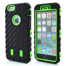 Coque For iPhone5 Case Tire Dual Layer Defender Case For iphone5s  Hard Plastic 3 in 1 Heavy Duty Armor Hybrid Phone Cover