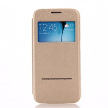 Window Display View Cover For Samsung Galaxy Note 3 4 5 S3 S4 S5 S6 S6 edge case Luxury PU Leather Book Phone Shell Accessories