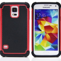 New Shockproof 2 in 1 Cell Phone Protective Cover Hybrid Armor Soft Silicone Hard Back Case For Samsung Galaxy S5 case