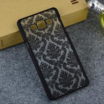 Back Cover for Samsung Galaxy S6 edge case Damask Vintage Flower Pattern Luxury