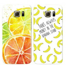 For Samsung Galaxy Note 5 case Fashion Fruit Transparent Clear Ultra Thin Soft TPU Phone Case