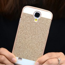 Luxury Bling Glitter Skin Glam Plastic Back Cover celular Para For Samsung Galaxy S3 S4 S5 S6 S7 Edge J5 Core Prime case coque