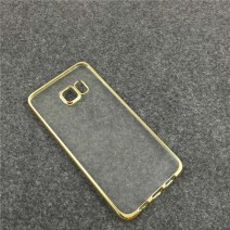 Royal Luxury style Plating Gilded TPU Phone silicone soft Back Cases Cover Case For Samsung Galaxy For iPhone case