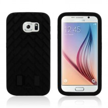 Tire Dual Layer Defender  Hard Plastic 3 in 1 Heavy Duty Armor Hybrid Phone Cover Coque For samsung galaxy S5 S6 case
