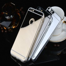 Luxury Ultra-thin Mirror Soft TPU phone cases coque for iPhone 5 case For iPhone 5s case back cover fundas capa