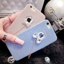 Luxury Candy Crystal Bling Glitter Powder Shine soft Phone Cases Cover For iPhone 5 5s SE 6S 6 plus Case Fundas Skin Capa Para