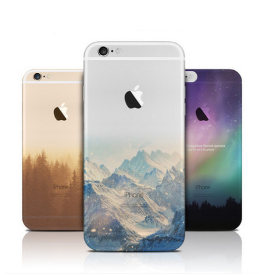 Ultra Thin Soft Silicon Fashion Transparent Back fundas coque For iPhone 6 case for iphone 6s case Plus phone cases Cover