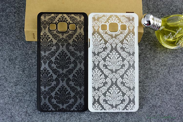 Back Cover Coque for Samsung Galaxy S3 S4 S5 S6 S7 Edge A3 A5 2016 J5 J7 Grand Prime case Damask Vintage Flower Pattern Luxury