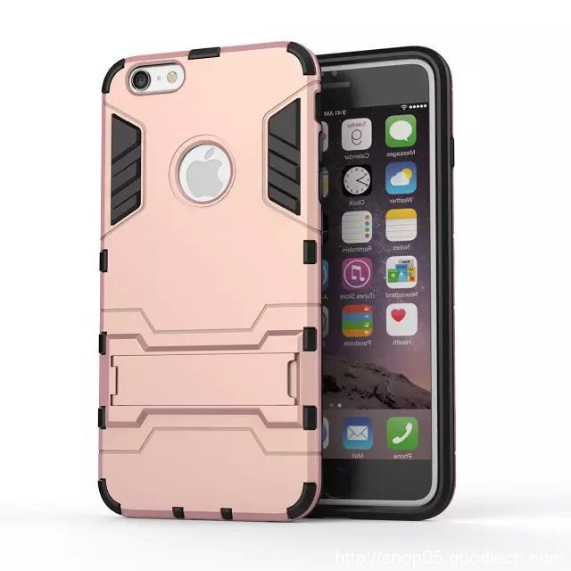 Dual Layer Hybrid Armor Back Stand  For iPhone 5s case For iphone 5 case Shockproof  TPU Plastic Protective Phone Cover