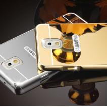 Luxury Elegant High Quality Metal Aluminum Case Acrylic Mirror Back Cover Case For Samsung Galaxy