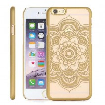 2016 New Plastic Hard Back Case Cover For iPhone 6 6S 6 Plus 6SPlus Damask Vintage Flower Pattern Luxury Mobile Phone Cover