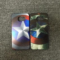 For Samsung Galaxy S6 case New Arrival Marvel Hero Captain America Design Hard Plastic Case Cover