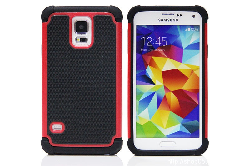 Hot Selling Unique Football Pattern Triple Combo Hybrid Phone Case For Samsung Galaxy cases