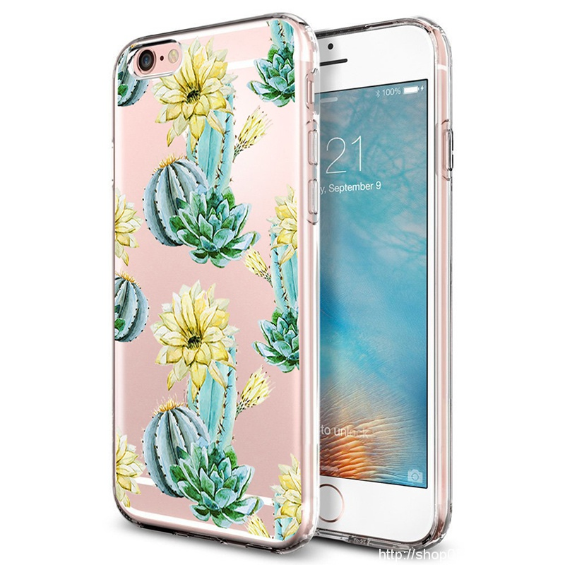 Flower Printed Coque for iPhone 5S Case Rubber Soft Flexible Silicone Shock Scratch Resist Protective Cover for iPhone SE