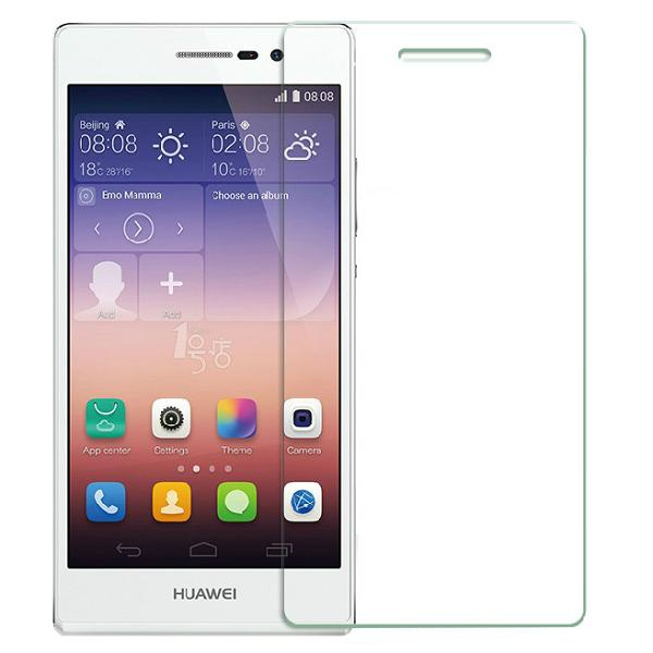 Cases For huawei honor 4c P8 P8 lite Case Ultra Thin Tempered Glass Screen Protector Reinforced Front Film