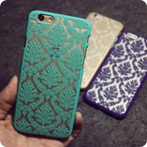 Brand Coque Phone Case for iphone 5 Case for iphone 5s Cases Vintage Flower Pattern Luxury Phone Back Cover Fundas For iPhone 5