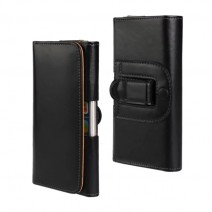 Universal Genuine Leather Belt Clip Phone Pouch Bag for iPhone 4S 5 5S SE 6 6S Vintage Case for Samsung Galaxy S4 S5 S6 S7 Edge