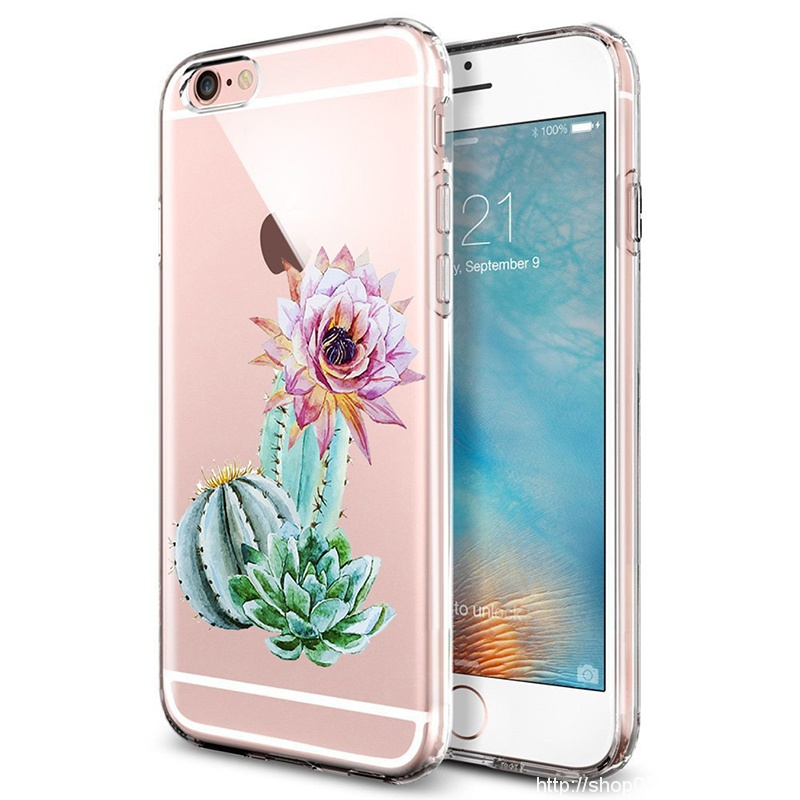 Funda Coque for Apple iPhone 4S Case Printed Pattern Clear TPU Silicone Gel Back Cover Skin Soft Case for iPhone 4 Accessories