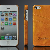 2015 Luxury Wallet Flip Genuine Leather Case for iphone 5 5S Retro Stand capa fundas Cover for iphone5 5S Phone cases