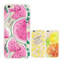 Fruit Pineapple Lemon Banana TPU Soft Silicon Transparent Thin Case Cover For Apple iPhone 5C case Coque